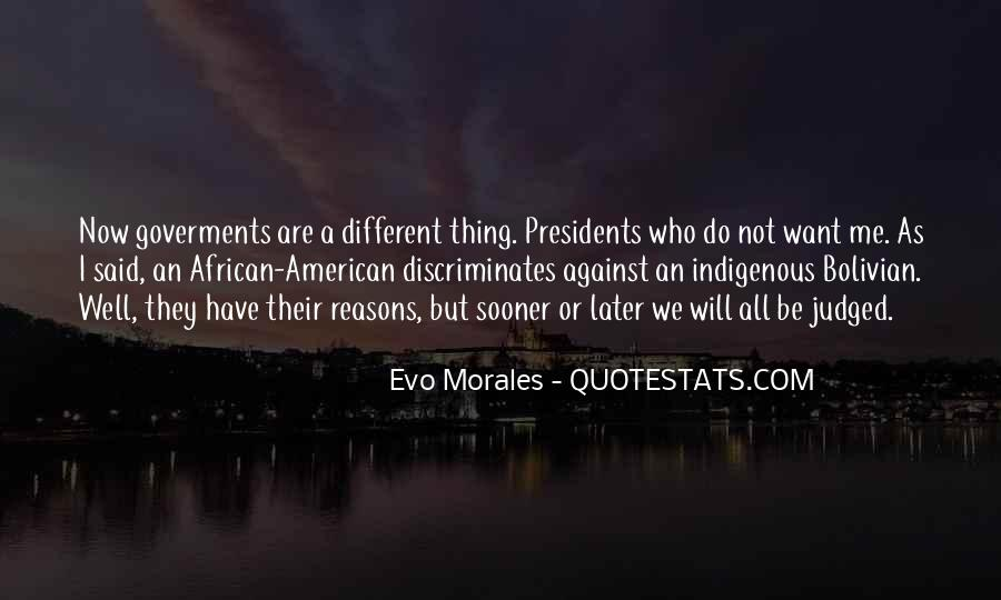 Quotes About American Presidents #1189608