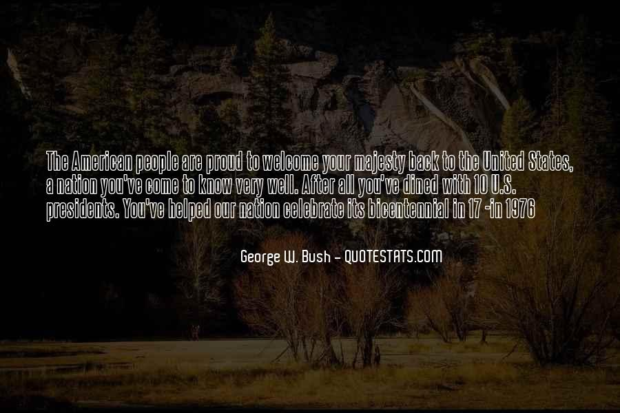 Quotes About American Presidents #669094