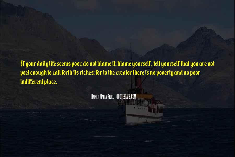 Poverty To Riches Quotes #1126342
