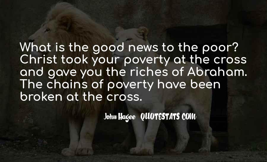 Poverty To Riches Quotes #1662959