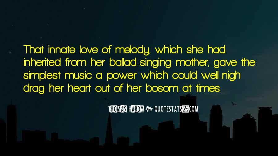 Power Ballad Quotes #667970