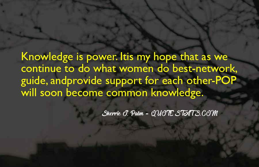 Power Is Knowledge Quotes #147607
