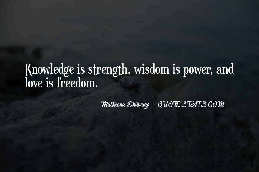 Power Is Knowledge Quotes #153840