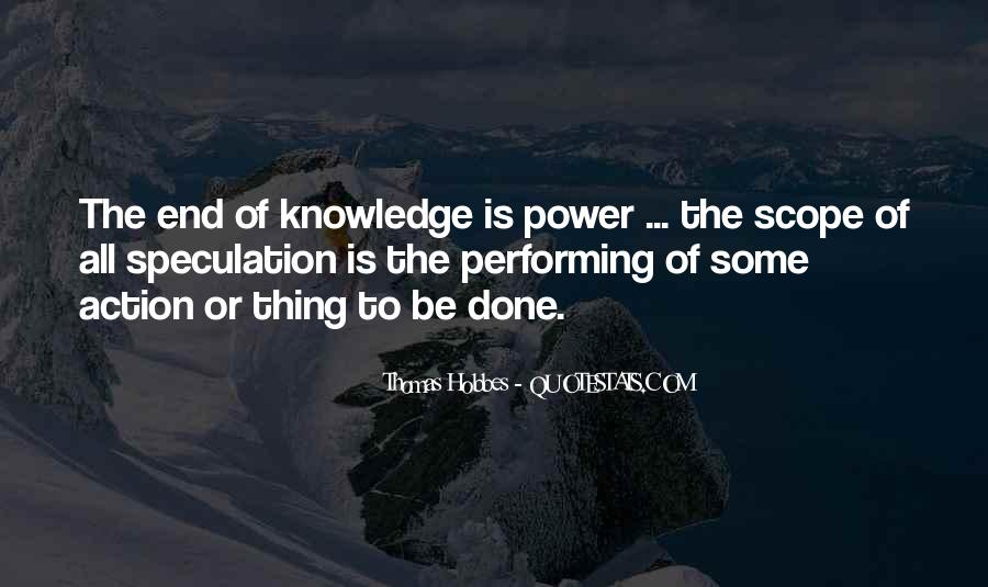 Power Is Knowledge Quotes #249636
