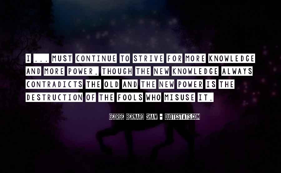 Power Is Knowledge Quotes #252934