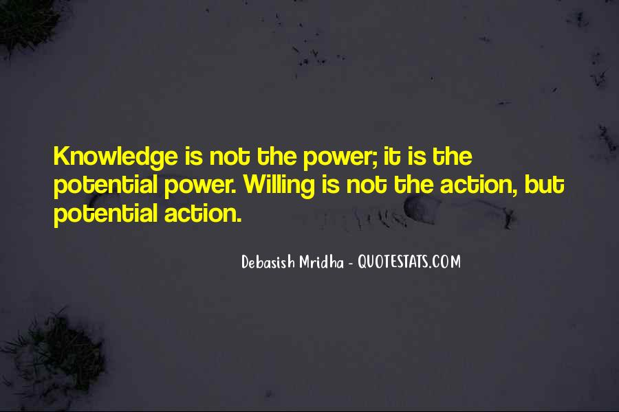 Power Is Knowledge Quotes #401539