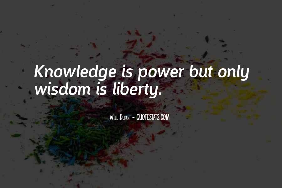 Power Is Knowledge Quotes #414842