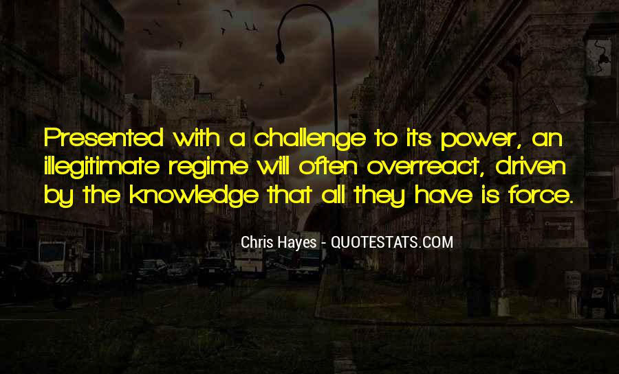 Power Is Knowledge Quotes #420039