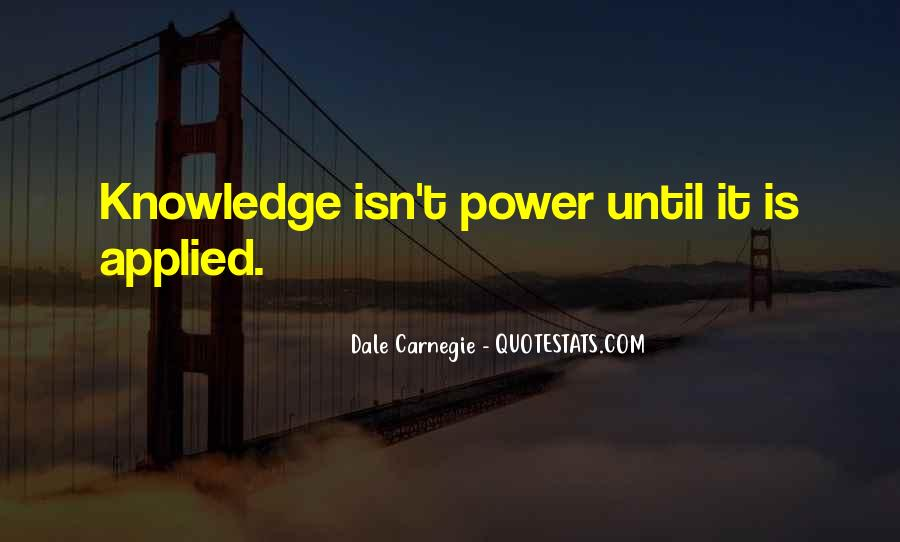 Power Is Knowledge Quotes #57805