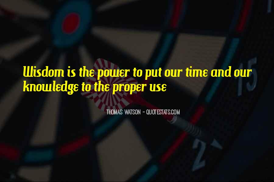 Power Is Knowledge Quotes #85925