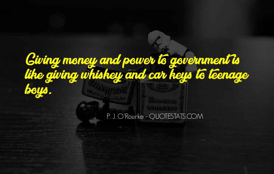 Power Is Money Quotes #109221