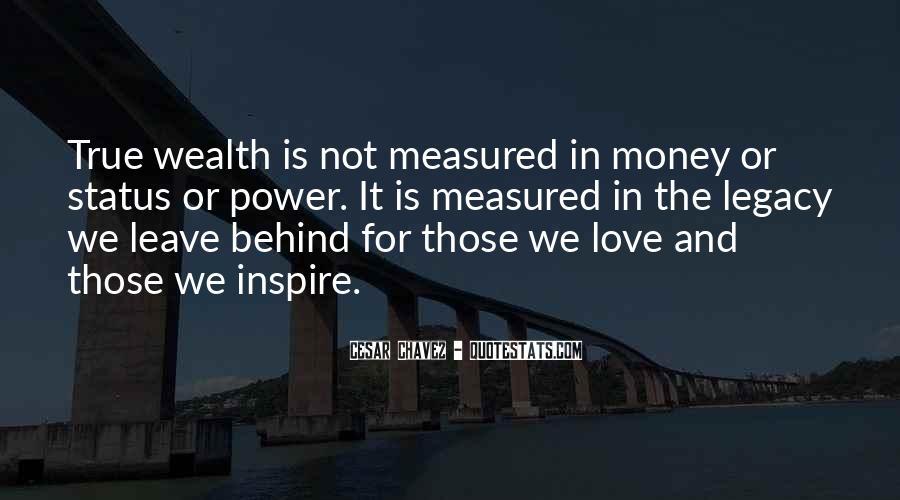 Power Is Money Quotes #140802