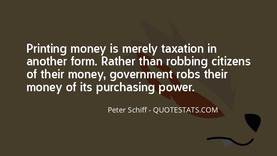 Power Is Money Quotes #178876