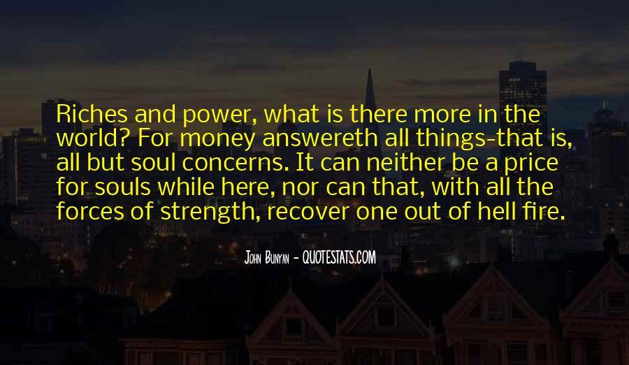 Power Is Money Quotes #181233