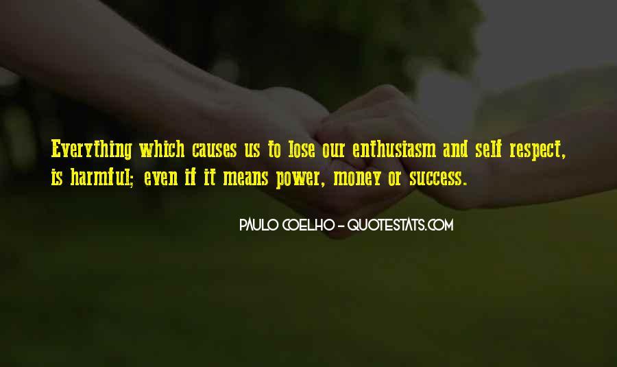 Power Is Money Quotes #241017