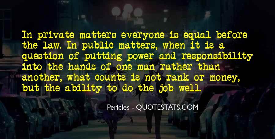 Power Is Money Quotes #257283