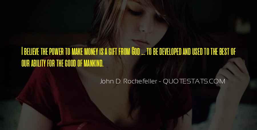 Power Is Money Quotes #27173