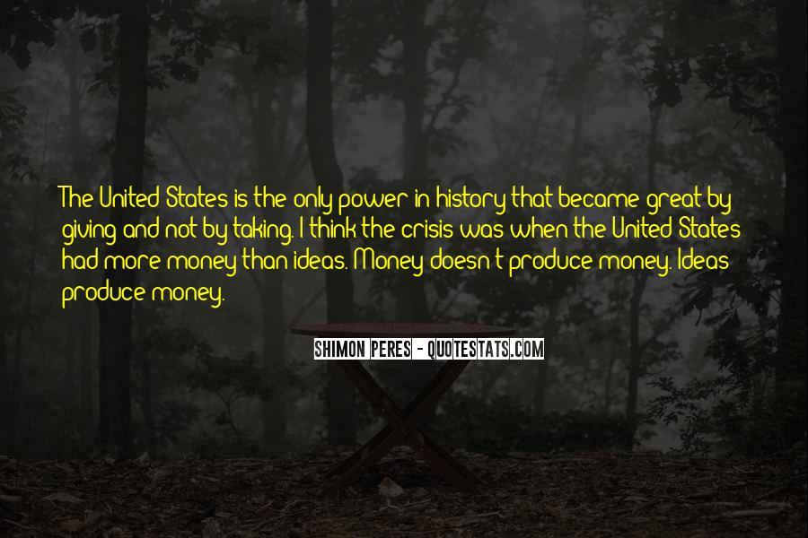 Power Is Money Quotes #322723