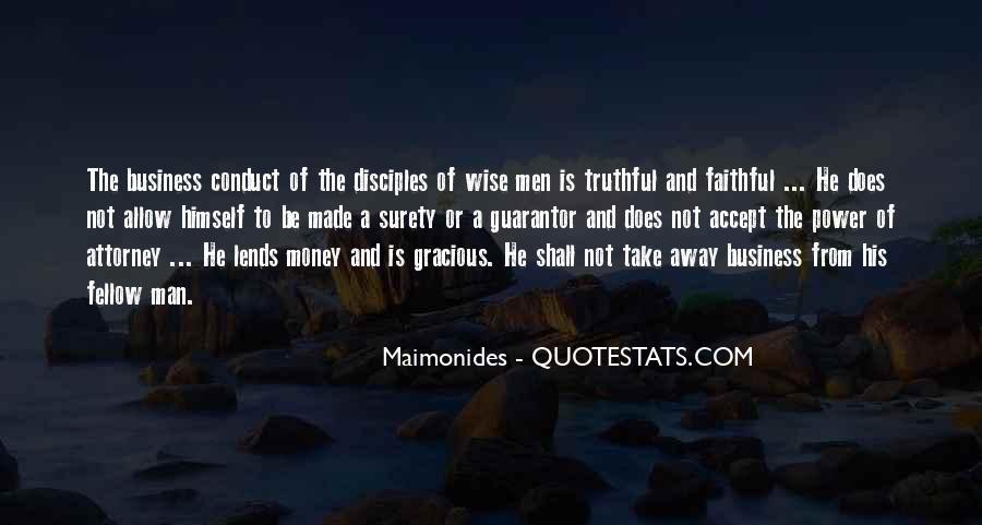 Power Is Money Quotes #3680