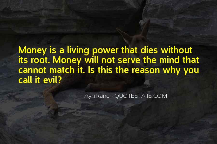Power Is Money Quotes #394697
