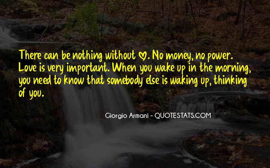 Power Is Money Quotes #419695