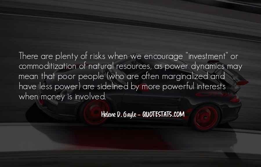 Power Is Money Quotes #469058