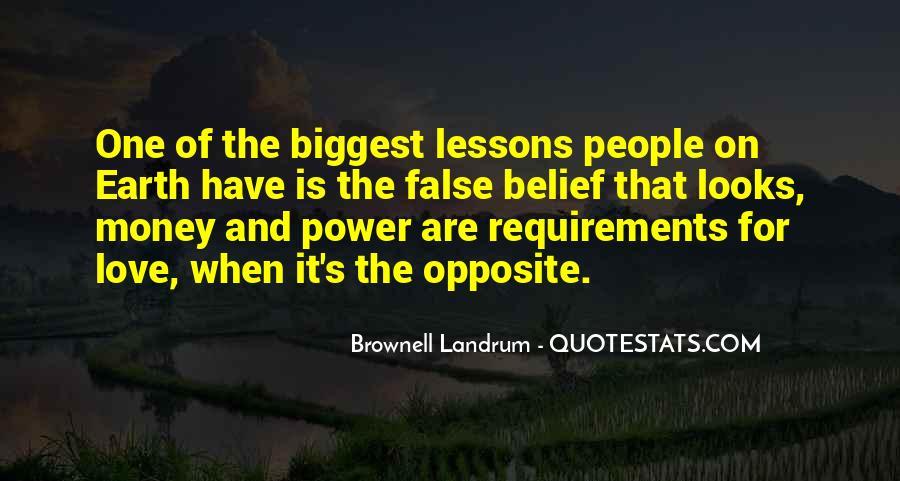Power Is Money Quotes #496689
