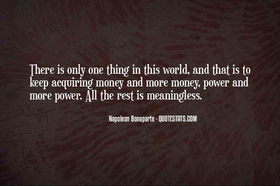 Power Is Money Quotes #505568