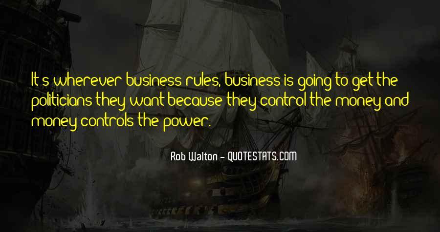 Power Is Money Quotes #53099