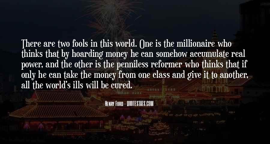 Power Is Money Quotes #68424