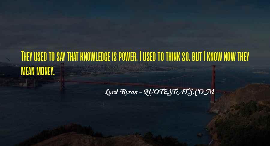 Power Is Money Quotes #77203