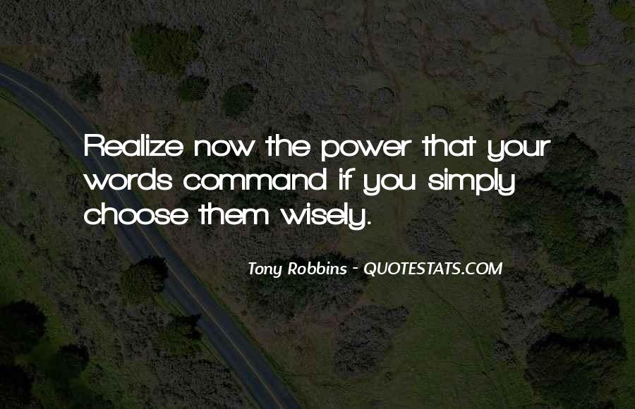 Power Now Quotes #85133