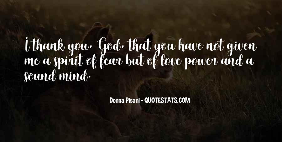 Power Of God Love Quotes #1019394