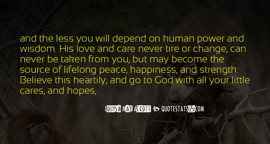 Power Of God Love Quotes #1098443