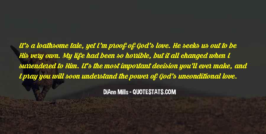 Power Of God Love Quotes #133393