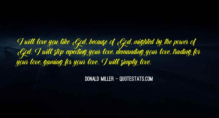 Power Of God Love Quotes #136711