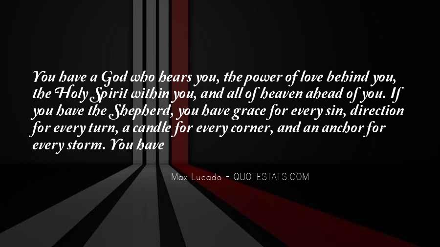 Power Of God Love Quotes #233732