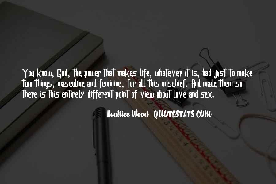 Power Of God Love Quotes #310292