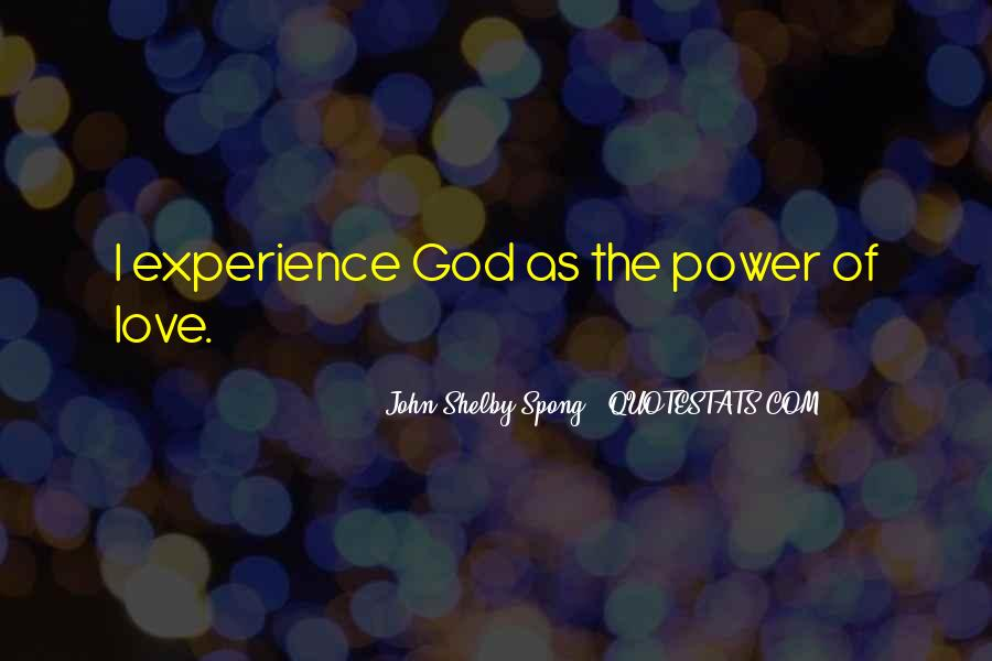 Power Of God Love Quotes #441799