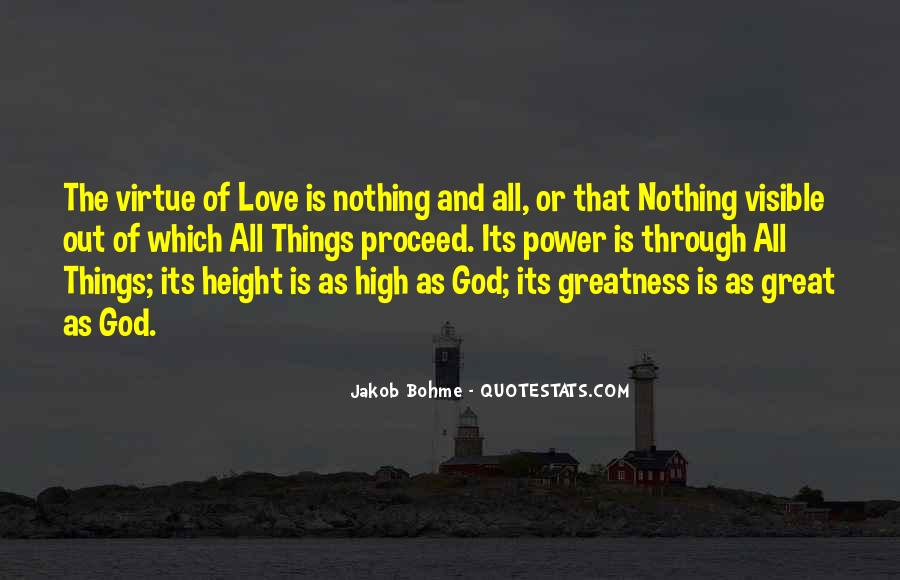 Power Of God Love Quotes #480733