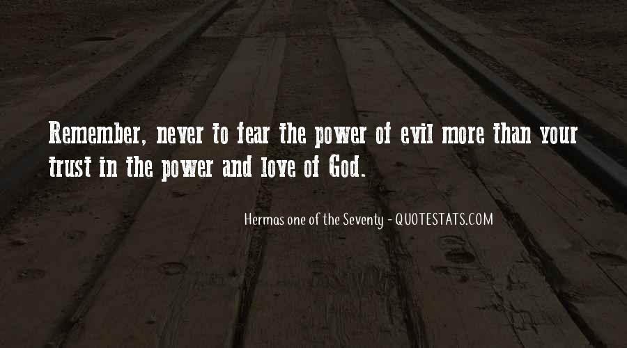 Power Of God Love Quotes #529556