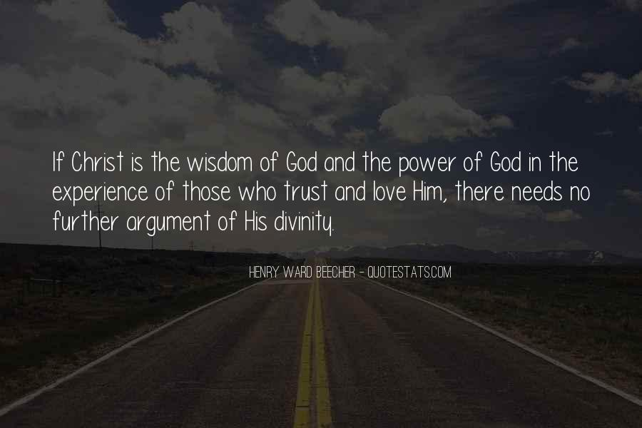 Power Of God Love Quotes #722154