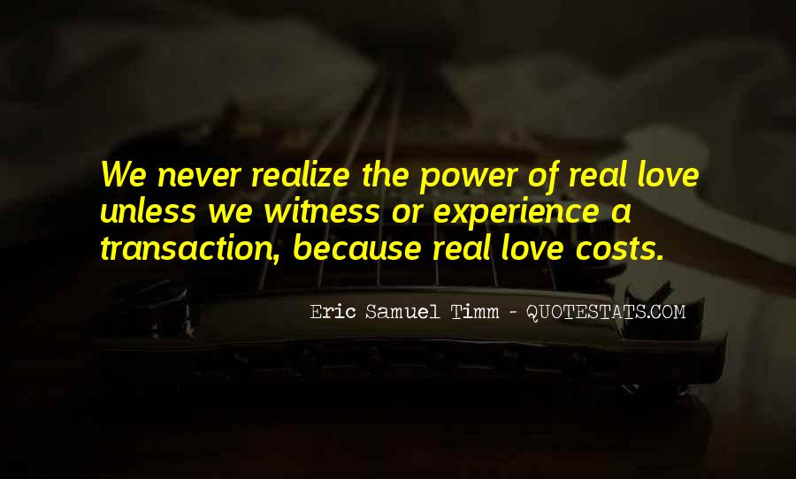 Power Of God Love Quotes #808267