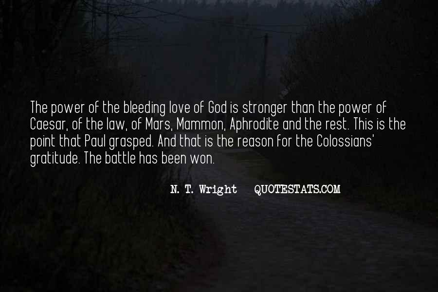 Power Of God Love Quotes #830924