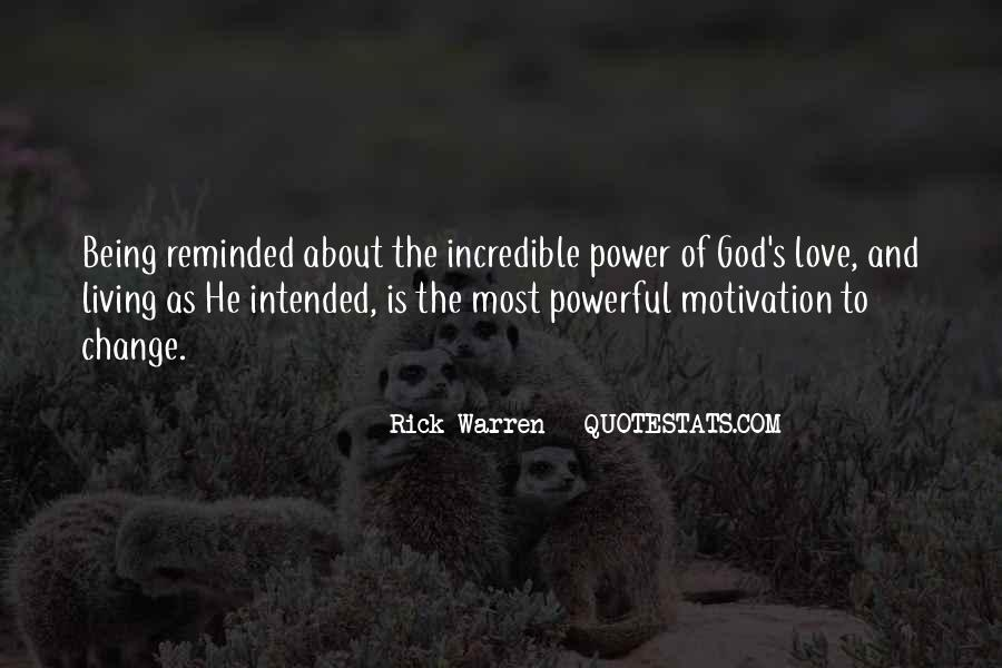 Power Of God Love Quotes #932108