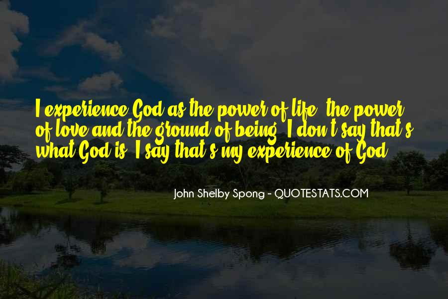 Power Of God Love Quotes #936737