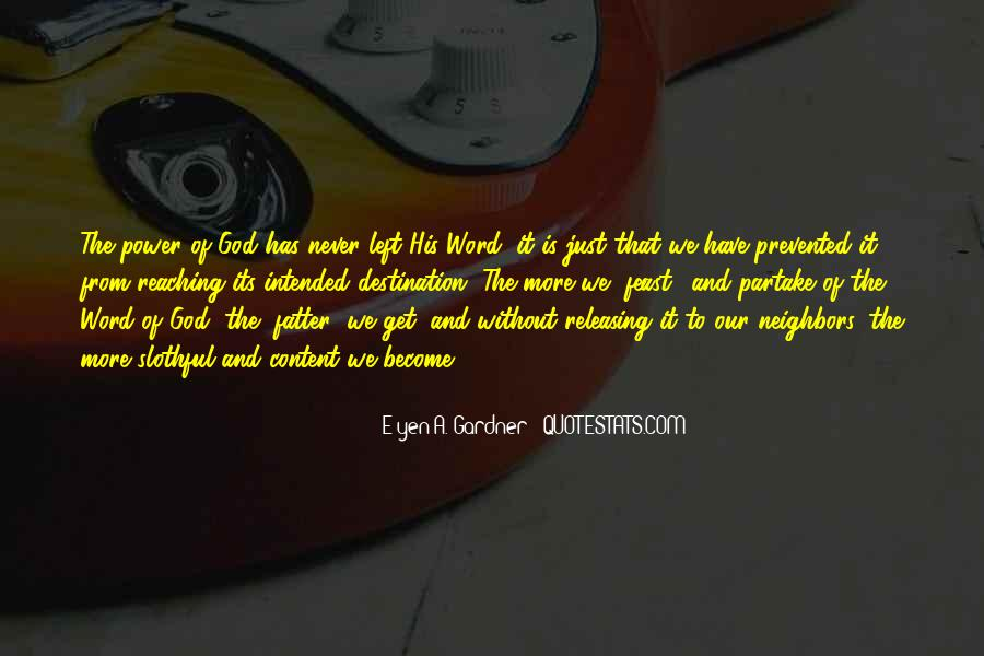 Power Of God Love Quotes #945167