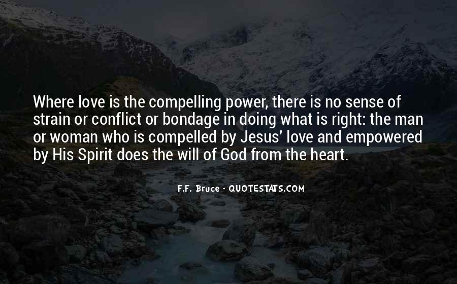 Power Of God Love Quotes #969162