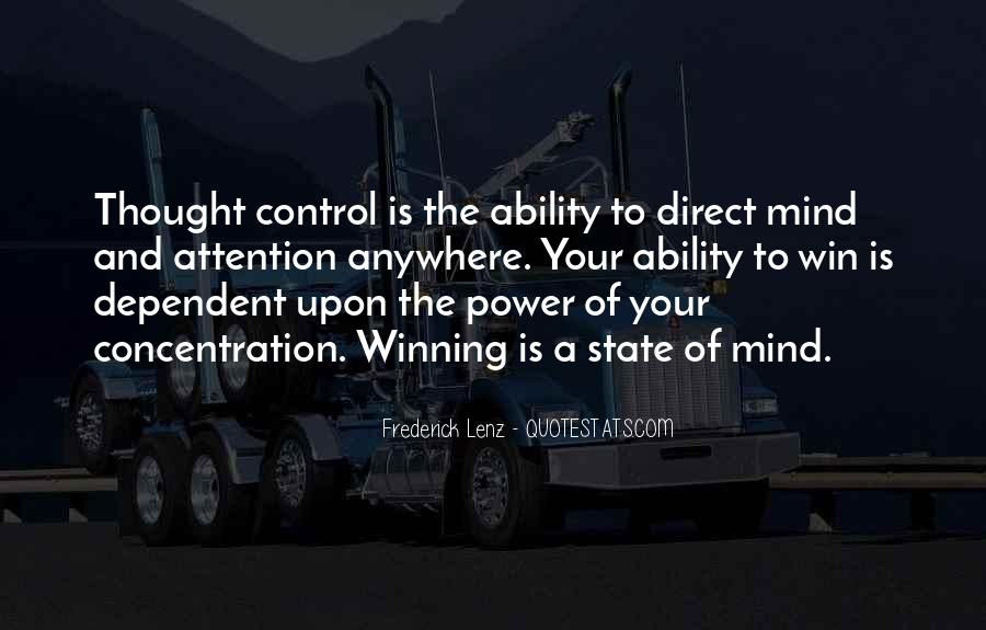 Power Of Mind Quotes #152401