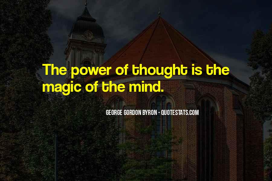 Power Of Mind Quotes #177084